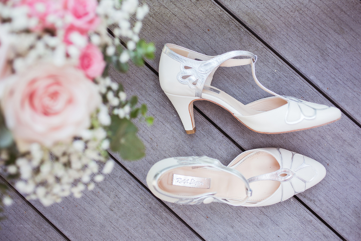 ana gely wedding photography photographer london runnymede on thames bride shoes flowers