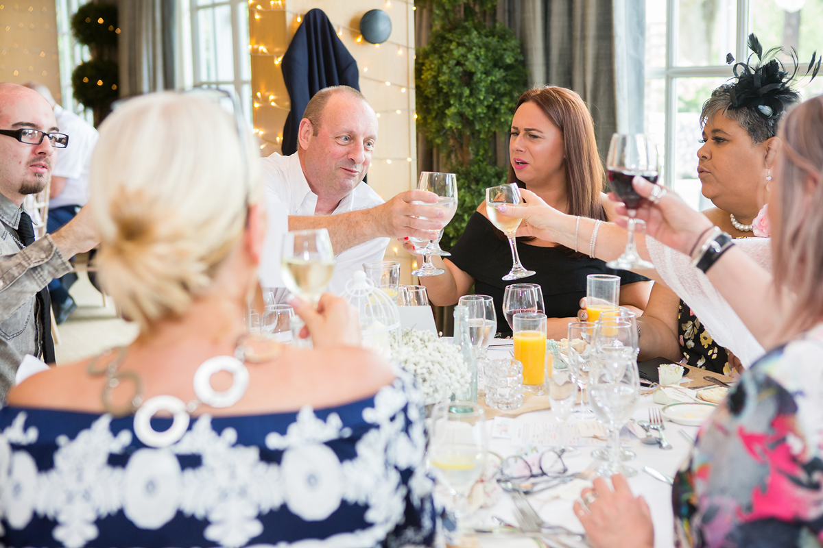 ana gely wedding photography photographer london runnymede on thames reception