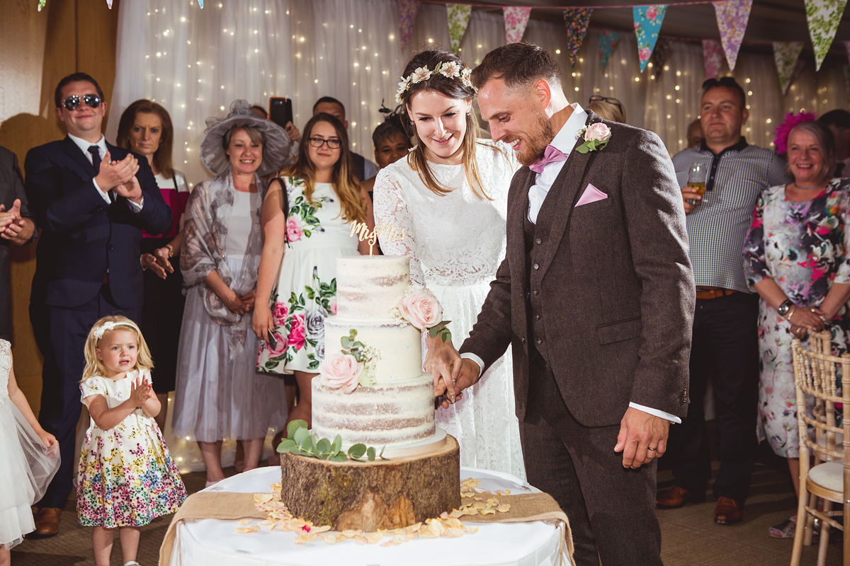 ana gely wedding photography photographer london runnymede on thames cake cutting