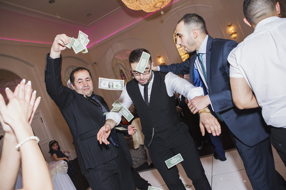 ana gely turkish engagement photography london grand palace banqueting suite bride groom money dance