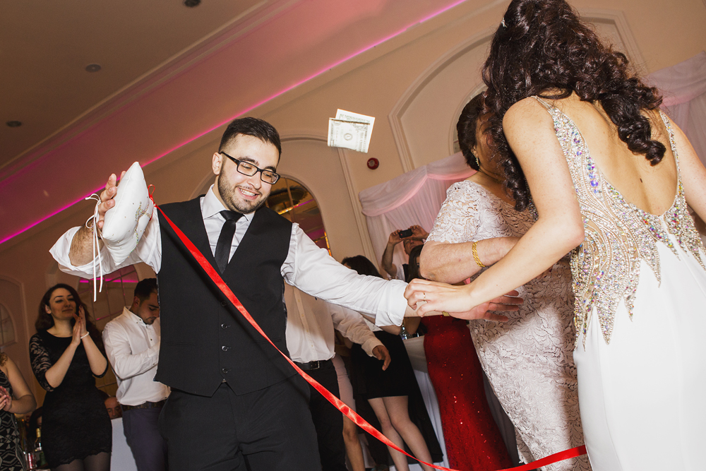 ana gely turkish engagement photography london grand palace banqueting suite bride groom dance